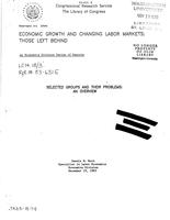 Economic growth and changing labor markets