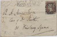 Letter from Leigh Hunt to R. H. Horne