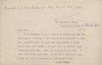 Letters to Thornton Hunt from Various Authors, page 2 [transcript]