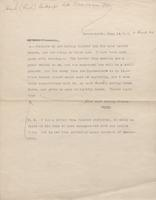 Letters to Thornton Hunt from Various Authors, page 3 [transcript]