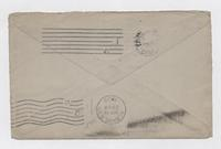 Letter from Carolyn Wells to John Walker, envelope front