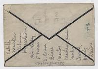 Letter from R.B. to R. Eleanor M., envelope front