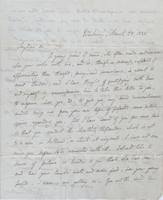 Letter to Leigh Hunt from R. Chambers, page 1