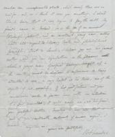 Letter to Leigh Hunt from R. Chambers, page 2