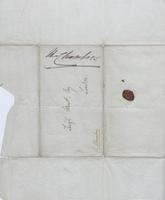 Letter to Leigh Hunt from R. Chambers, page 3