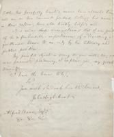Letter from John Leigh Hunt to Alfred Bunn, page 2