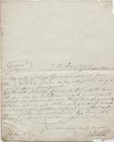 Letter from Alfred Bunn to John Leigh Hunt