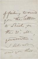 Letter to Thornton Hunt from Unknown Authors, page 2