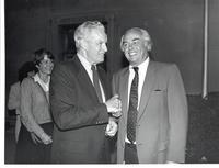 Richard Bolling with Fernand Saint-Germain