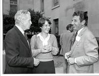 Richard Bolling, Andrea Bolling, and Leo Zeferetti