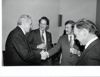 Richard Bolling, Bill Brown, Pete Robinson and Don Edwards at a Missouri Delegation Reception