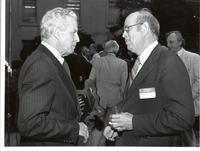 Richard Bolling with Ben Guthrie at a Congressional tribute