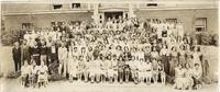 Class of 1933 group photo at Lincoln High School