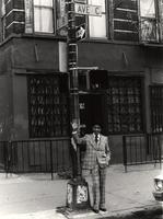 Buck Clayton on Avenue C in New York City