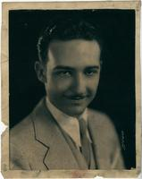 Publicity photo of Dott Massey, Pla-Mor Orchestra director