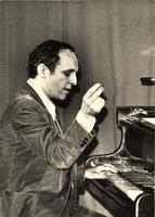 Claude Bolling playing piano