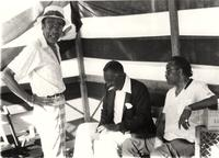 Buck Clayton, Joe Williams, and Harry Edison