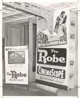 "Marquee advertising ""The Robe"" at the Orpheum Theatre"