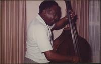 Milt Hinton plays the bass