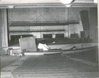 orchestra floor prior to demolition at Tower Theatre