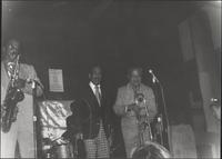 Buddy Tate takes the solo