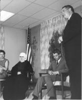 Jim Bolling, Sister Laurence, Robert Kennedy, and Richard Bolling