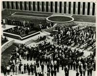 Opening dedication ceremony for the Federal Building