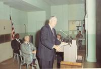 Richard Bolling at Post Office dedication ceremony