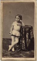 Girl in ballet costume