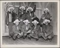 Texas Rangers eight-member group portrait