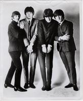 Promotional photo of the Beatles