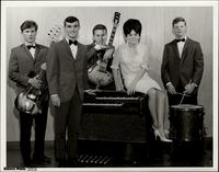 Publicity photo of Gene Hill and the Vibrations