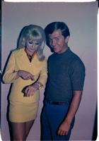 Gail Workman and Bobby Soule posing for publicity photos