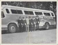 Publicity photo of the Chords