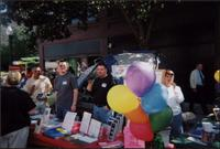 LGCCKCs table at Out in Westport