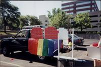 LGCCKCs pride parade decorated pickup