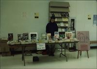 African American History Month book sale table at Phoenix Books