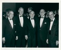 Paul Creston, Stanley Adams, Lew Berry, Jimmy McHugh, Ned Washington at White House Correspondence Dinner