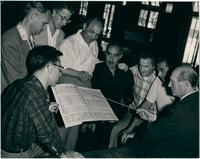 Composers and conductors at Asilomar Conference Center