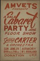 Gala Cabaret Party and Floor Show