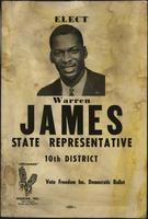 Elect Warren James