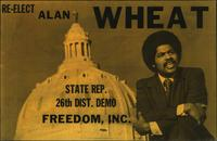 Re-elect Alan Wheat