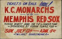 K.C. Monarchs vs. Memphis Red Sox