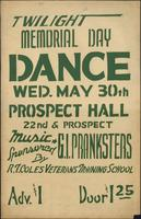 Twilight Memorial Day Dance