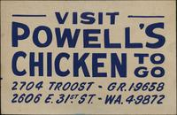 Visit Powell's Chickens To Go