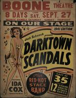 Jack Schenk presents Darktown Scandals