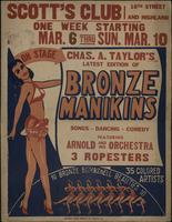 Chas. A. Taylor's Latest Edition of Bronze Manikins