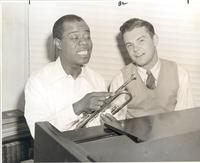 Louis Armstrong and Dave Dexter