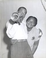 Louis Armstrong and Lucille Wilson