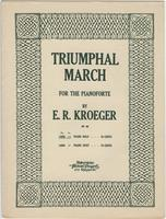 Triumphal march, op. 88